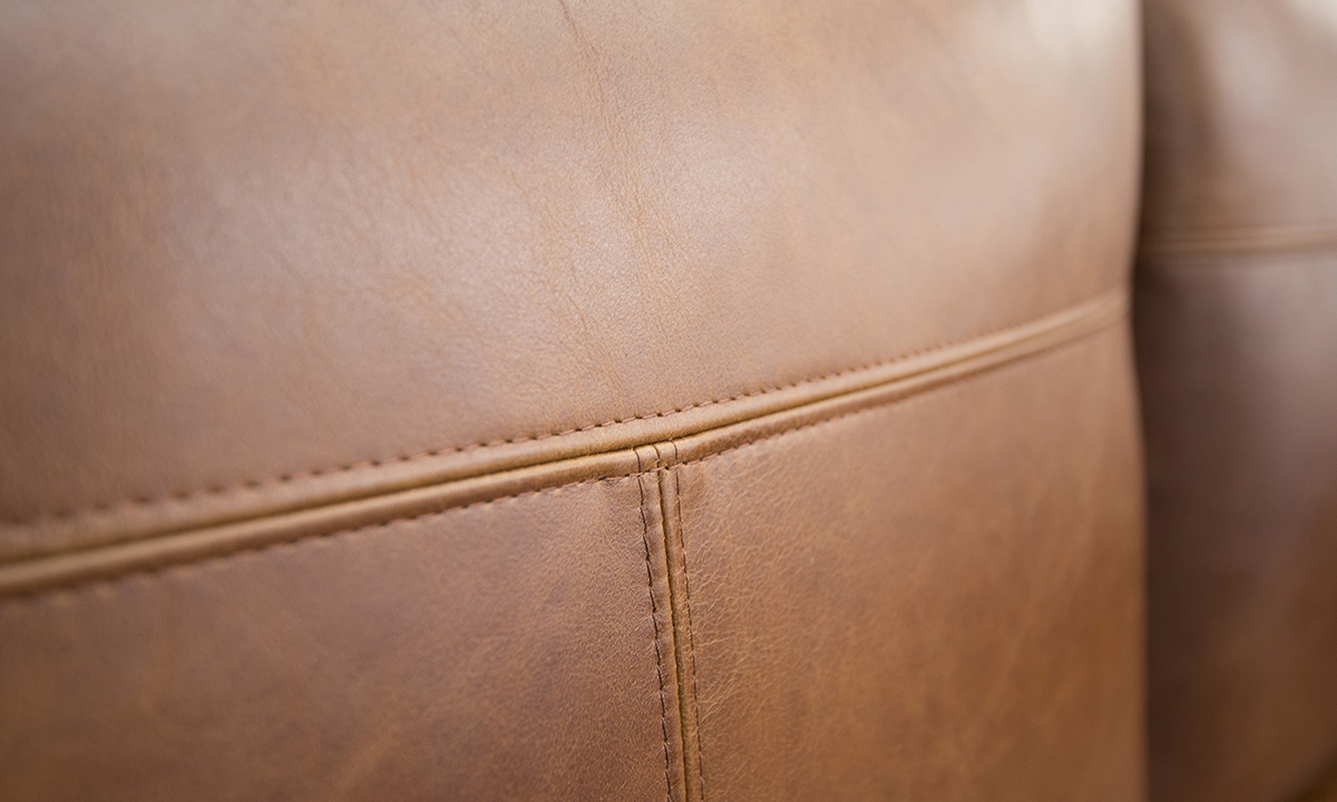 Leather-Nolan-4-Seater-Chaise-End-Sofa-stitching-in-Mustang-Rust