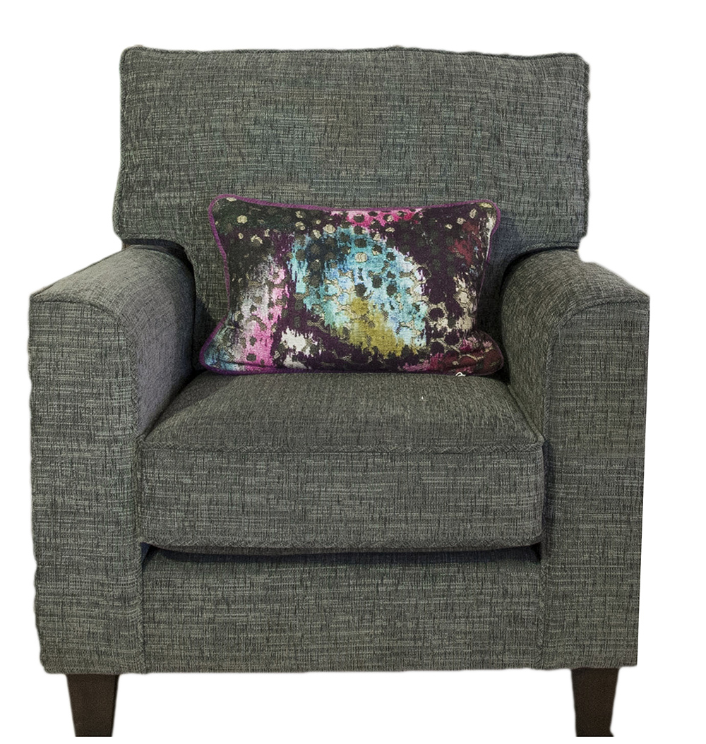 Leon Chair - Corrine Charcoal