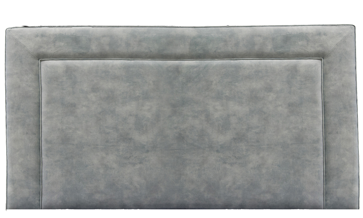 6ft Monaco Headboard in Warwick Lovely Powder, Gold Collection Fabric