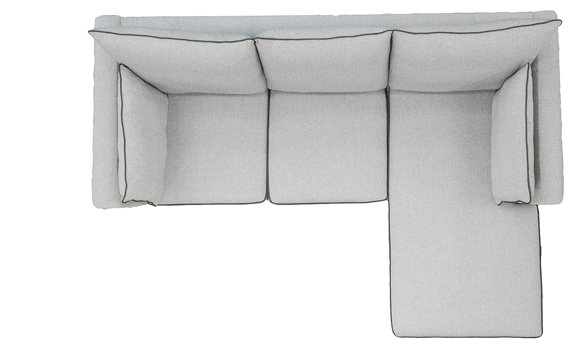 Monroe-Large-Chaise-End-Sofa-Top-View-bespoke-in-Foxford-Fabric-Platinum-Collection-Fabric