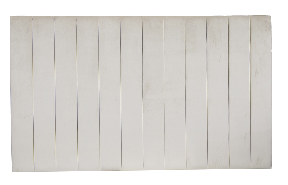 Florida Headboard in Luxor Blonde Silver Collection Fabric