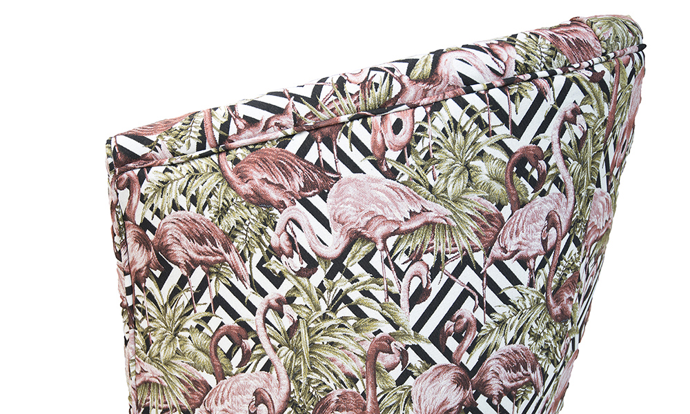 Tub-Chair-side-panel-n-Flamingo-Brick-Gold-Collection-Fabric