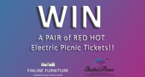 Electric picnic tickets giveaway competition finline furniture