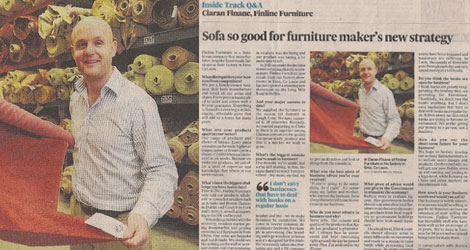 Finline Furniture - In the News - Irish made bespoke furniture